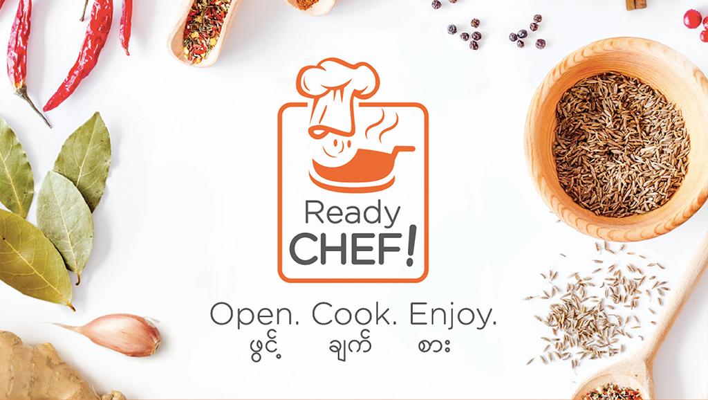 Ready Chef Logo with the brand tagline